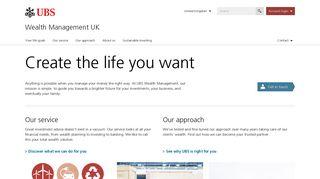 Wealth Management UK | UBS United Kingdom