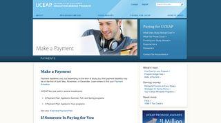 UCEAP: Payments