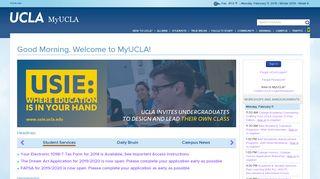 MyUCLA - UCLA.edu