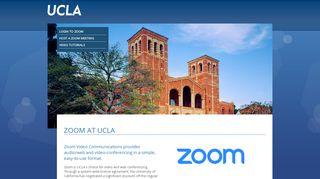 Zoom at UCLA