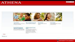 Athena Homepage
