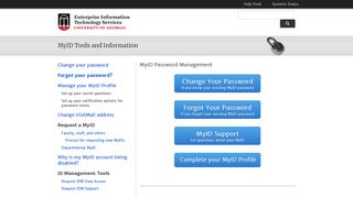 MyID Tools and Information | Access and Security | EITS - UGA EITS