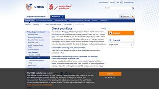 Check your Data - UMCG