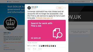 Uk login jobmatch universal Find a