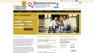 University Lending Group - Providing mortgage loans and information