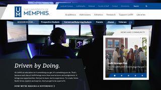 The University of Memphis - The University of Memphis