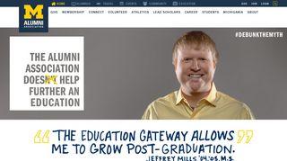 Home   Alumni Association of the University of Michigan