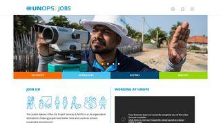 UNOPS Jobs   Opportunities at UNOPS