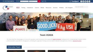 Meet our Team and Staff   U.S. Anti-Doping Agency (USADA)