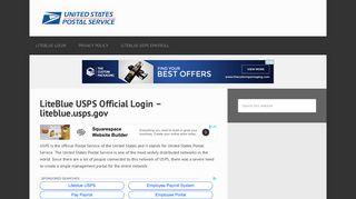 Liteblue | USPS Official Employee Login Portal @ liteblue.usps.gov