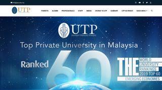 UTP Universiti Teknologi PETRONAS