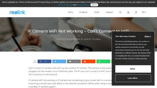 IP Camera WiFi not Working – 8 Tips to Fix IP Cam not Connecting to ...