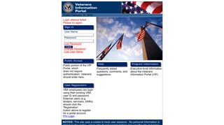 Login - Veterans Information Portal