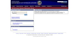Log in to Veteran's Affairs Vendor Portal - VA.gov