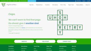 enter eXTRA Chances - Virginia Lottery