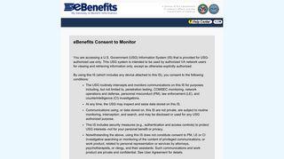 eBenefits - My Access Center - Login