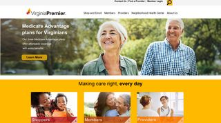 Virginia Premier | Insurance That Empowers Your Health Care