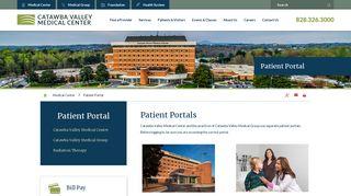 Patient Portal | Catawba Valley Medical Center