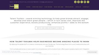 Talent Toolbox - People Technology by Purple Cubed