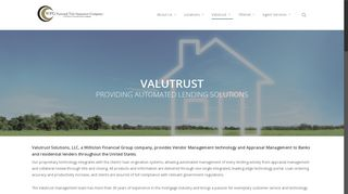 Valutrust Solutions - WFG National Title Insurance Company
