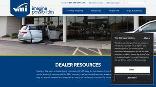 Dealer Log-In: Vantage Mobility - Vantage Mobility International