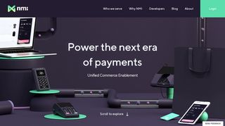 NMI: Unified Commerce Enablement Payment Gateway