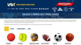 LEAGUES | VAVi Sport & Social Club