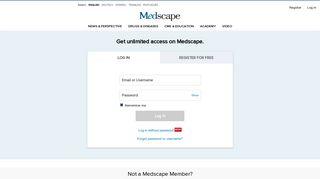 Medscape Log In