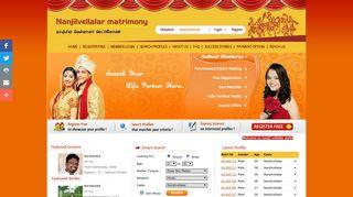 nvmatrimony.com Matrimonials - Welcome to nanjil vellalar matrimony