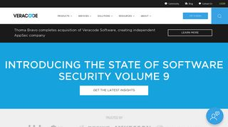 Use Veracode to secure the applications you build, buy, & manage
