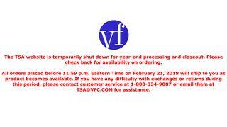 TSA Login - VF Solutions