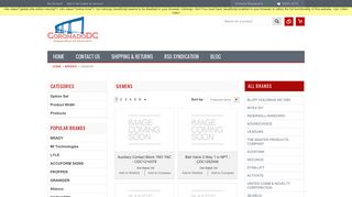 SIEMENS Products - Coronado Distribution MRO Site