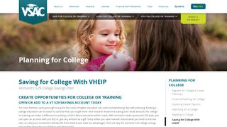 Saving for College With VHEIP | VSAC