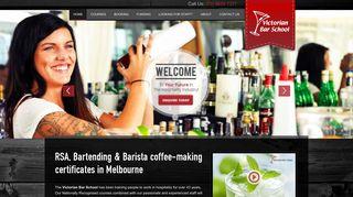 Victorian Bar School: RSA Course in Melbourne