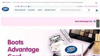 Sign up or Log in to View your Boots Advantage Card Account – Boots
