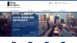 Village Bank & Trust: Welcome