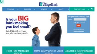 The Village Bank – Full-service bank located in the heart of seven ...