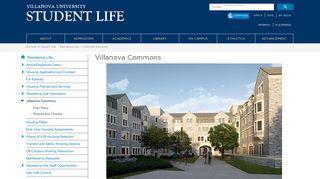 Villanova Commons | Villanova University