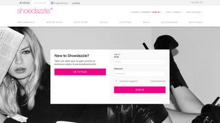 Login To Your Account | ShoeDazzle