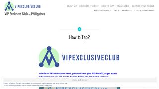 How to Tap? - VIP Exclusive Club – Philippines - WordPress.com