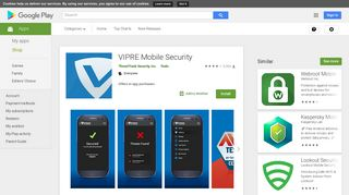VIPRE Mobile Security - Apps on Google Play