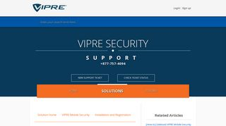 [How to] Sideload VIPRE Mobile Security : Support