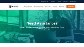 Customer Support & Help Center   VIPRE Antivirus