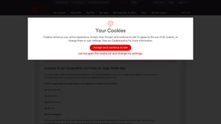 Virgin Media Mail - My Virgin Media