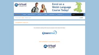 Student Log In - Virtual College