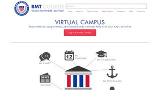 BMT College - Virtual Campus - Study anywhere, anytime