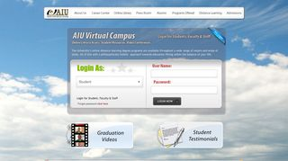 Login Page Virtual Campus, Students, Faculty, Staff - Atlantic ...