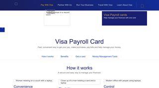 Visa Payroll Cards | Visa