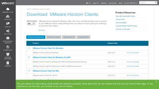 Download VMware Horizon Clients - My VMware