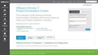 Try VMware Horizon : Virtual Desktop Access